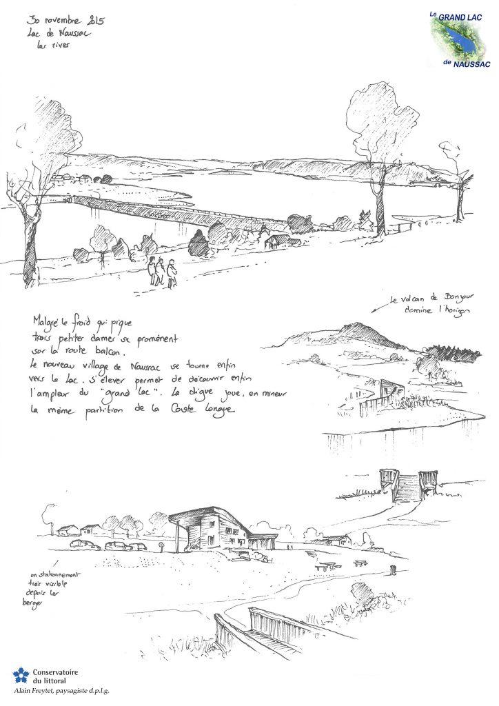 1 rive de Langogne Naussac